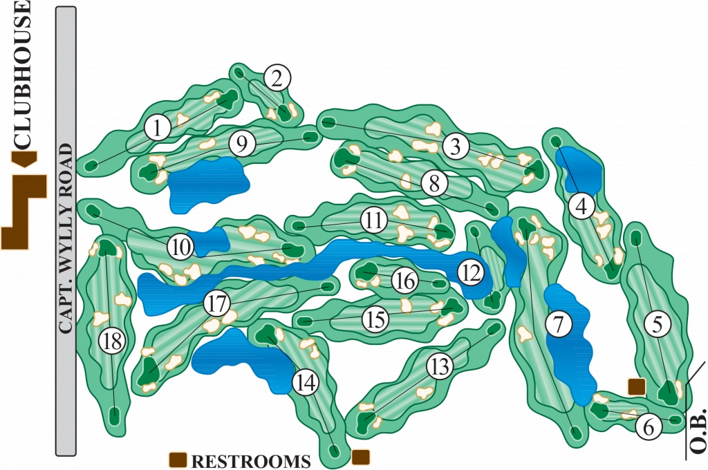 Map Of Florida Golf Courses With Top And Best Resorts Good Golf - Best Golf Courses In Florida Map