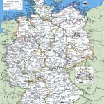 Map Of Germany With Cities And Towns | Traveling On In 2019   Large Printable Map Of Germany