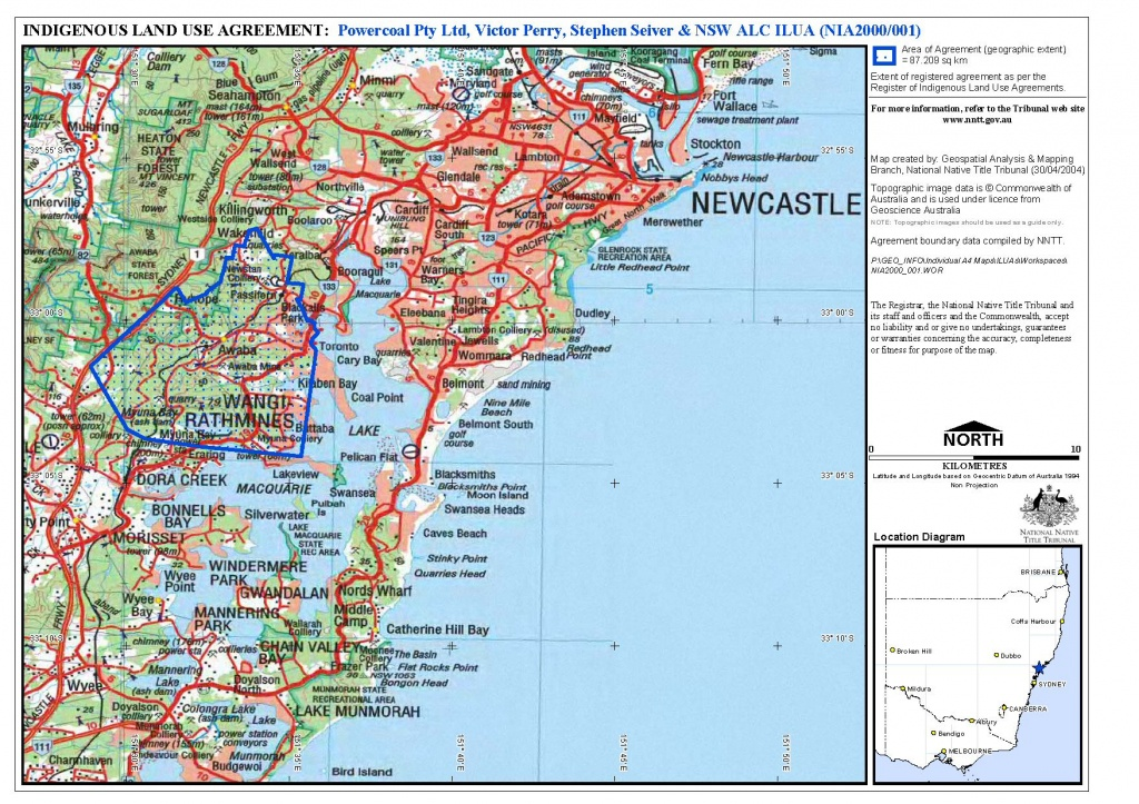 Map Of Hamilton Nsw | Download Them And Print - Printable Map Of Newcastle Nsw