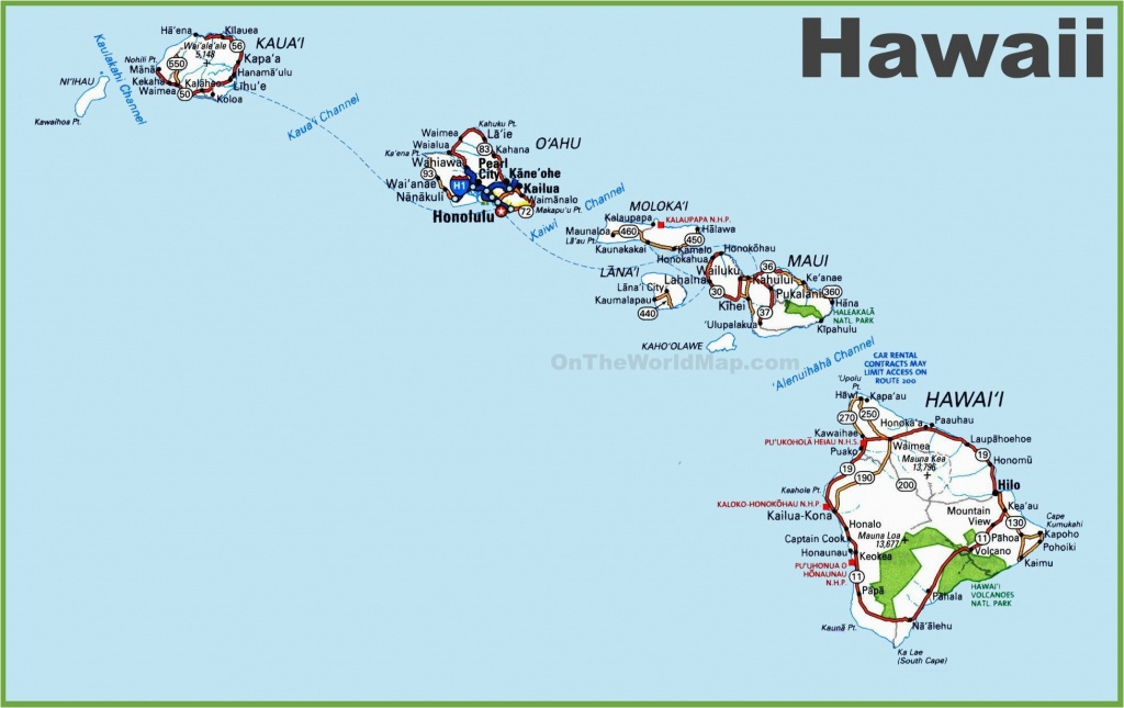Map Of Hawaiian Islands And California Map Hawaii 12 In West Usa And - Hawaii California Map