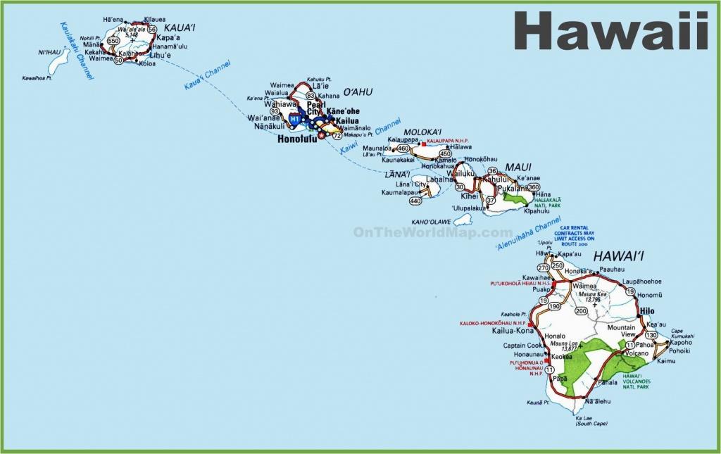 Map Of Hawaiian Islands And California Map Hawaii 12 In West Usa And - Map Of Hawaiian Islands And California