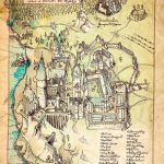 Map Of Hogwarts (I Think They Forgot To Label Where Slytherins   Hogwarts Map Printable