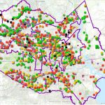 Map Of Houston's Flood Control Infrastructure Shows Areas In Need Of   Texas Rut Map 2017