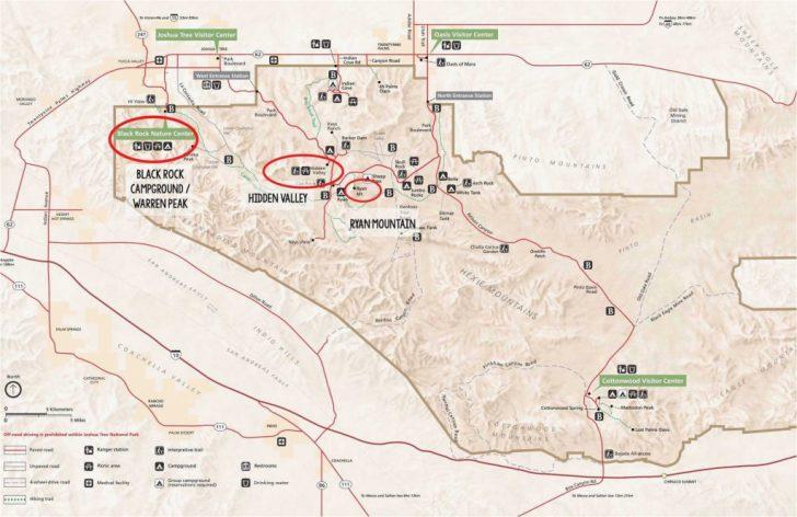 Joshua Tree California Map