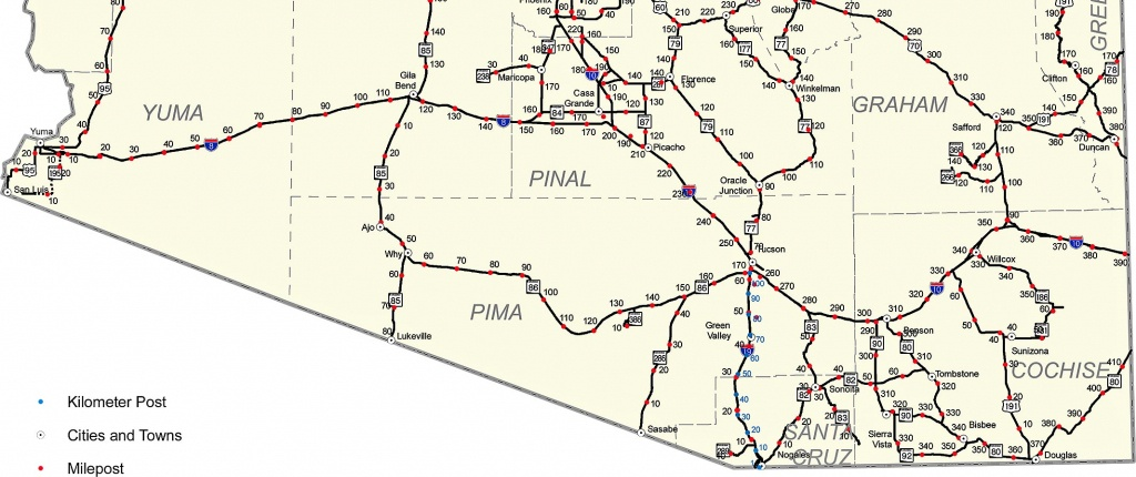 Map Of Interstate 40 And Travel Information   Download Free Map Of - Map Of I 40 In Texas