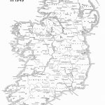 Map Of Ireland Counties Printable – Uk Map   Printable Black And White Map Of Ireland