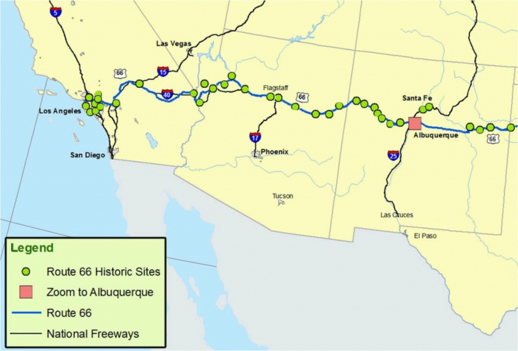 Map Of Las Vegas And California Maps Of Route 66 Plan Your Road Trip - Map Of Las Vegas And California