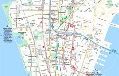 Printable Map Of Manhattan