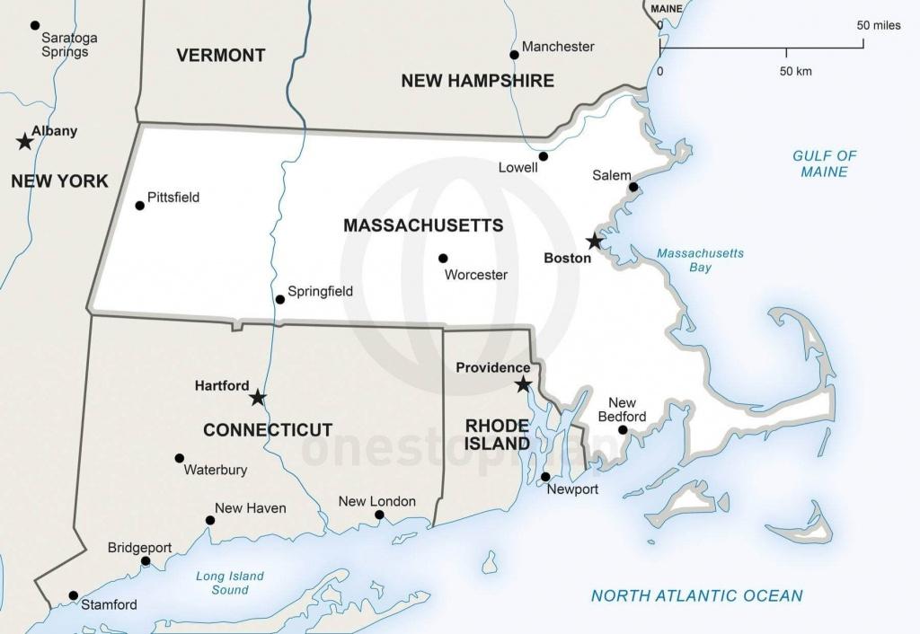 Map Of Massachusetts Political - Printable Map Of Massachusetts