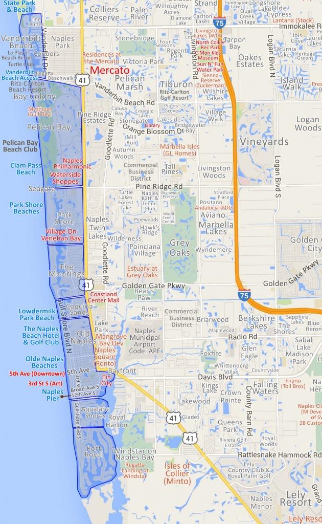 Map Of Naples And Amalfi Coast, Producedpcgraphics … – New - Google Maps Naples Florida Usa