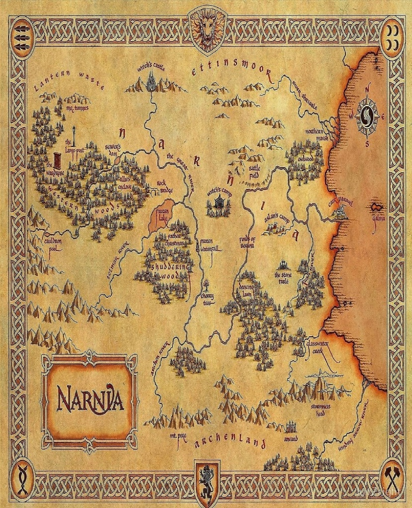 """Map Of Narnia""""luv2Right 
