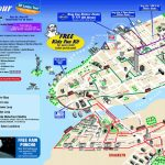 Map Of New York City Attractions Printable    Tourist Map Of New   Printable New York City Map With Attractions