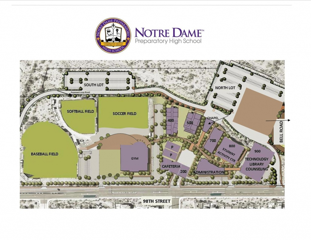 Map Of Notre Dame Campus | Sates Map - Notre Dame Campus Map Printable