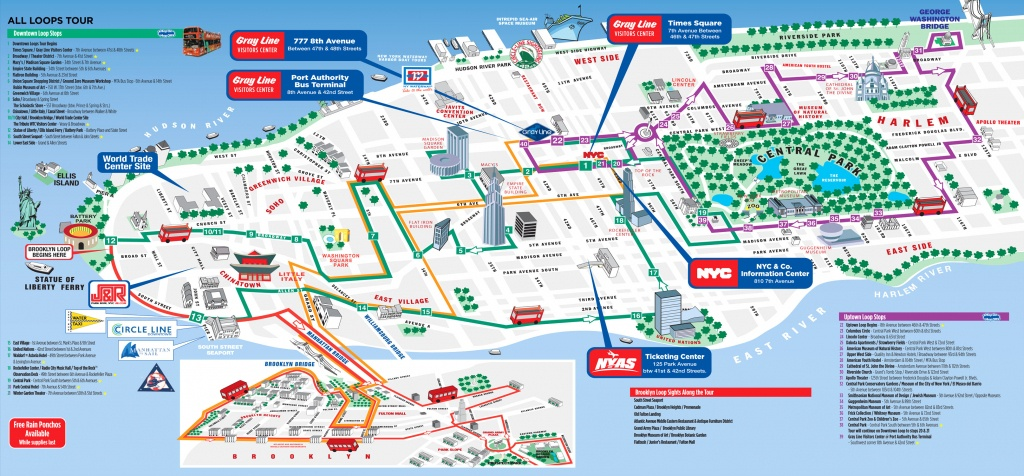 Map Of Ny City Attractions - Capitalsource - Printable Map Of New York City Tourist Attractions