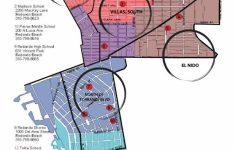 Redondo Beach California Map