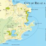 Map Of Rio De Janeiro Neighborhoods   Printable Map Of Rio De Janeiro