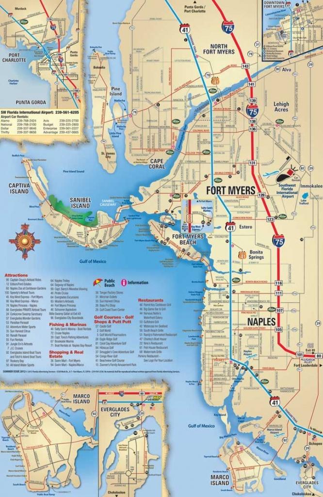Map Of Sanibel Island Beaches    Beach, Sanibel, Captiva, Naples - Map Of Destin Florida And Surrounding Cities