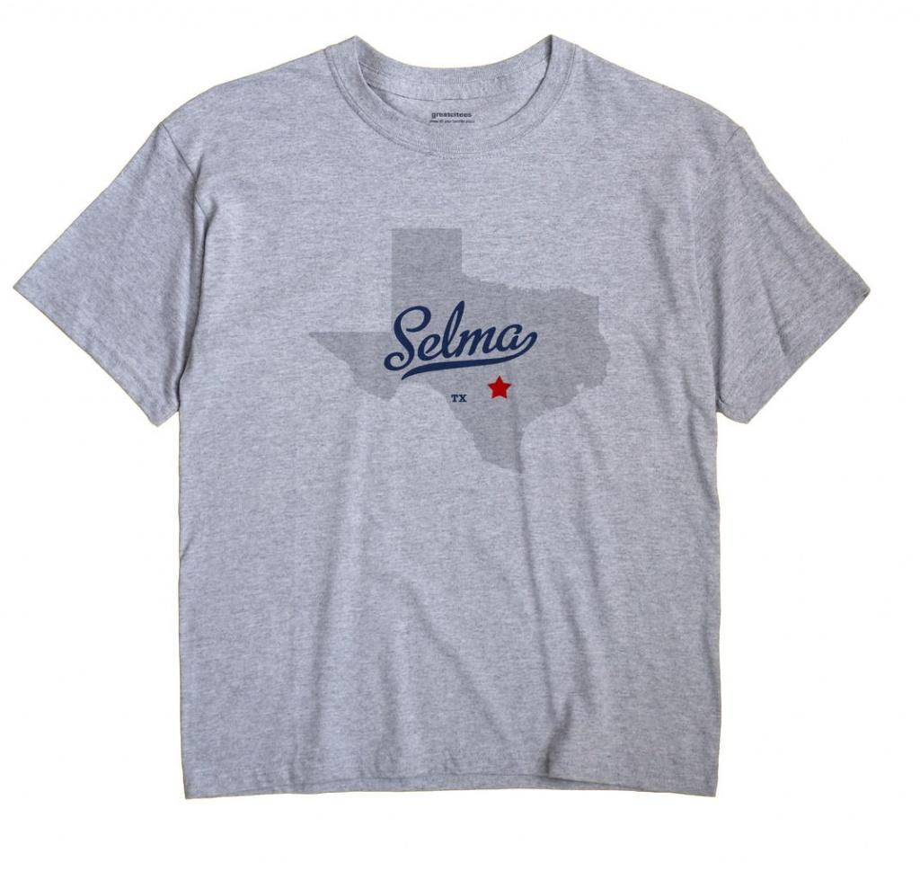 Map Of Selma, Tx, Texas - Selma Texas Map