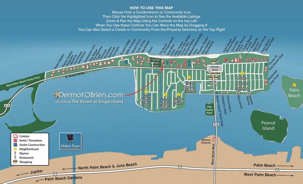 Map Of Singer Island Florida | Florida Map 2018 - Singer Island Florida Map