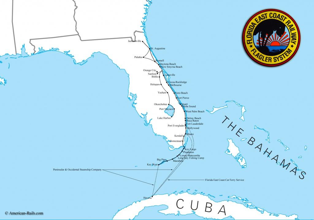 Map Of South Florida Coast - Lgq - Florida Coast Map