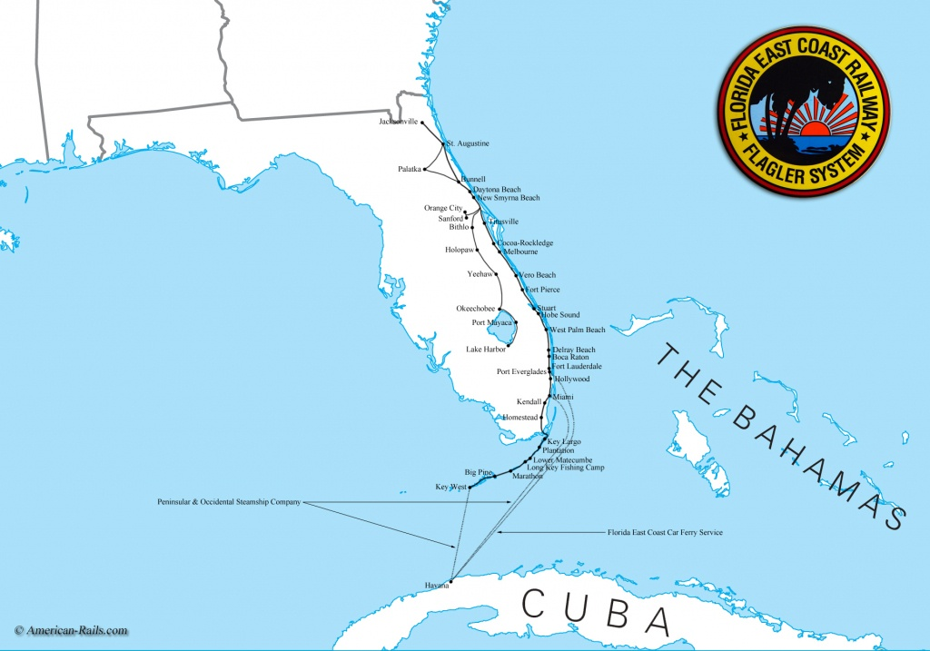 Map Of South Florida Coast - Lgq - Map Of Florida East Coast