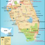 Map Of South Florida, South Florida Map   Google Maps Orlando Florida