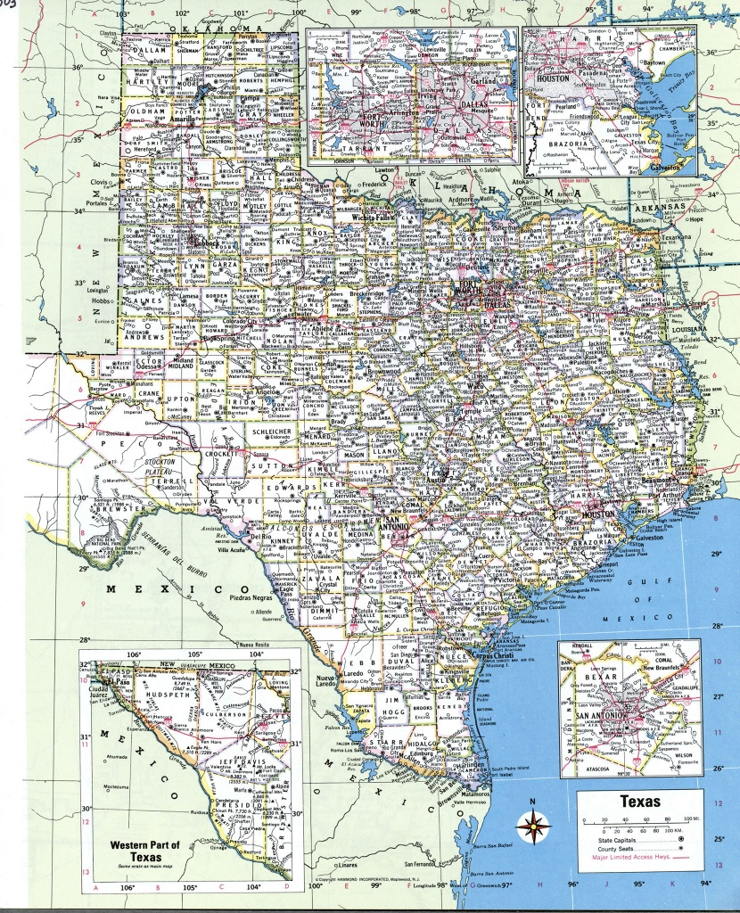 Map Of South Texas Towns And Travel Information   Download Free Map - South Texas Cities Map
