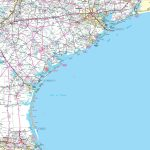 Map Of Texas Coast   Map Of Texas Coastline Cities