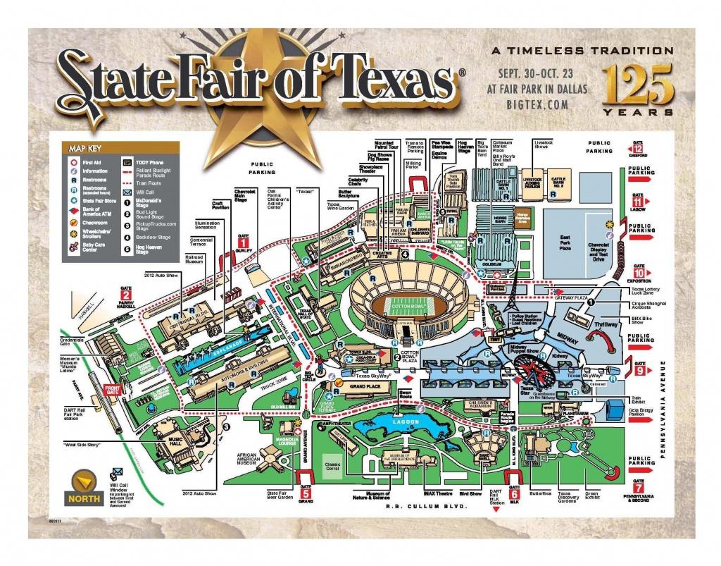 Map Of Texas State Fair | Autobedrijfmaatje - Texas State Fair Parking Map