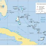 Map Of The Bahamas   Nations Online Project   Map Of Florida And Bahamas