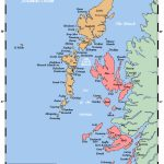 Map Of The Inner And Outer Hebrides Off Of The West Coast Of   Printable Map Of Mull
