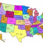 Map Of The Us States Labeled Best A Printable United America With 8   Us Map With States Labeled Printable