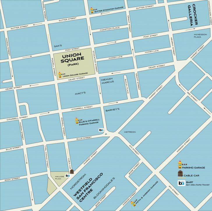 Printable Map Of San Francisco Bay Area