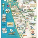 """Map Of Venice, Florida """"the Island Of Venice"""" In 2019   State Of   Street Map Of Englewood Florida"""