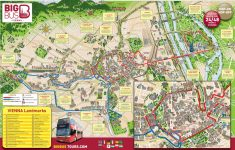 Map Of Vienna Tourist Attractions, Sightseeing & Tourist Tour – Vienna Tourist Map Printable