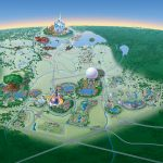 Map Of Walt Disney World Resort   Wdwinfo   Florida Map Hotels