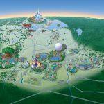 Map Of Walt Disney World Resort   Wdwinfo   Map Of Disney Florida Hotels