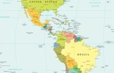 Western Hemisphere Map Printable