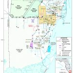 Map Showing Location Of The Study Area, Miami Dade County, Florida   Map Of Dade County Florida