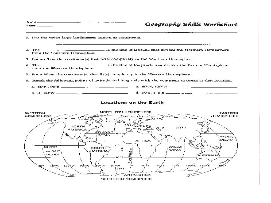 Map Skills Worksheet Pdf Fresh Best Solutions Of 6Th Grade Geography - 6Th Grade Map Skills Worksheets Printable