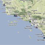 Map Southern California Coast Maps Of California Map Southern Inside   Map Of Southern California Coastline