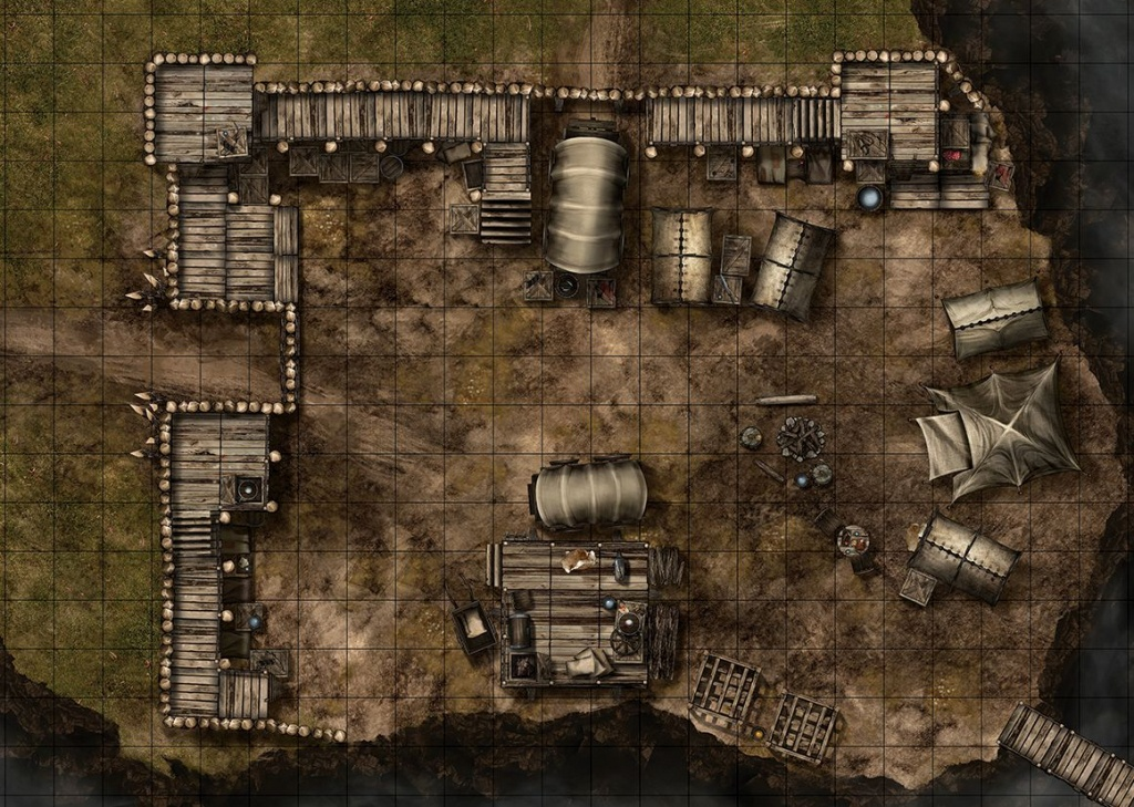 Maphammer Is Creating Battle Maps For D&d, Pathfinder And Other - Printable D&d Map Tiles