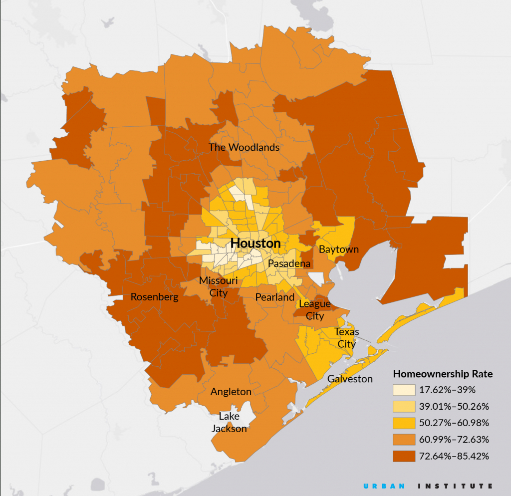 Mapping Harvey's Impact On Houston's Homeowners - Citylab - Show Map Of Houston Texas
