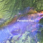 Mapping The Camp And Woolsey Fires In California   Washington Post   Live Satellite Map California