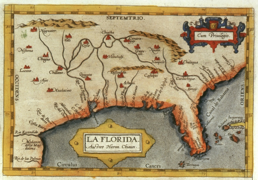 Maps And The Beginnings Of Colonial North America: Digital - Early Florida Maps