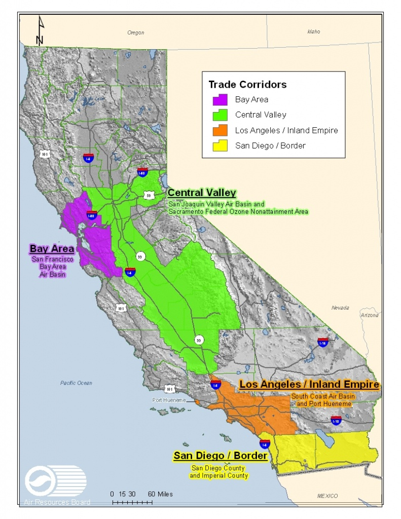 Maps Available On This Website - California Air Quality Index Map