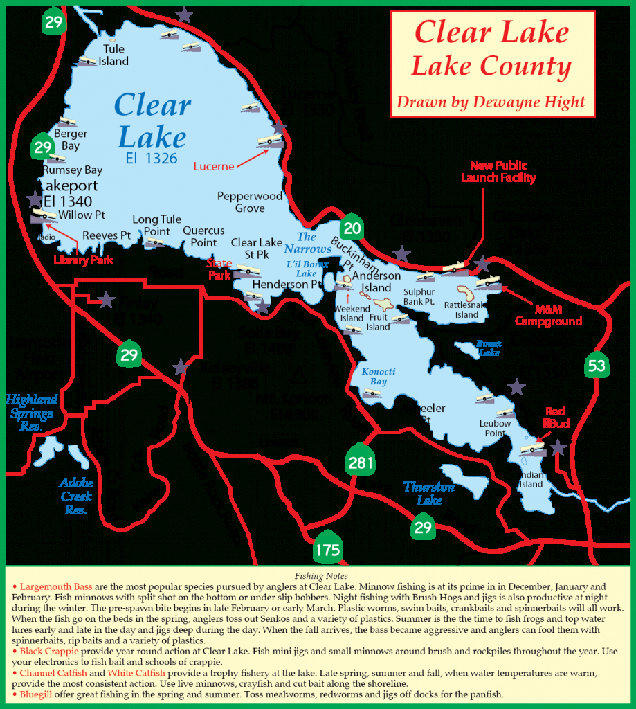 Maps - Bass Lake California Map