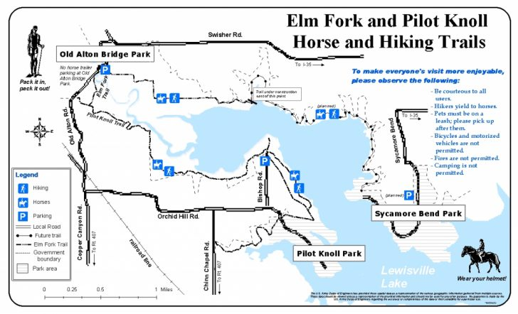 Corps Of Engineers Campgrounds Texas Map