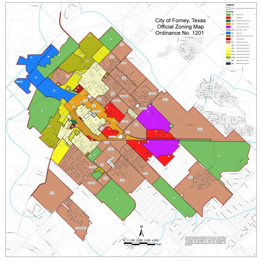 Maps   Forney Edc - Texas Property Map
