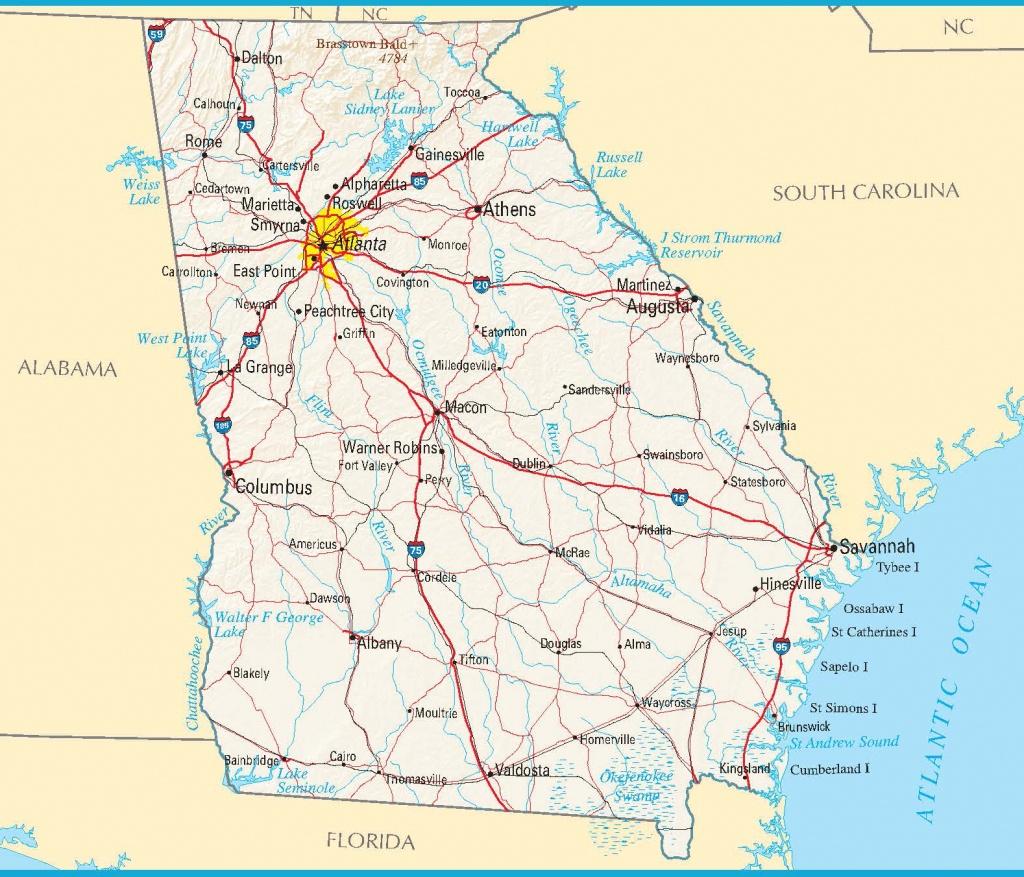 Maps. Google Maps Georgia - Diamant-Ltd - Printable Google Maps